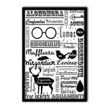 Harry Potter Poster Of Doodle 12x18 Poster For Poster Lover