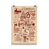 Harry Potter Infographic Poster