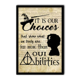 Harry Potter Its Your choice Poster