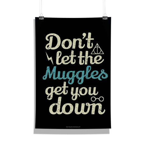 Harry Potter Poster Of Muggles 12x18 Poster For Poster Lover
