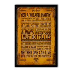 Harry potter poster merchandise india gifts wall poster wall decor