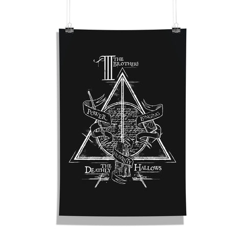 Harry Potter Poster Of Triangle 12x18 Poster For Poster Lover