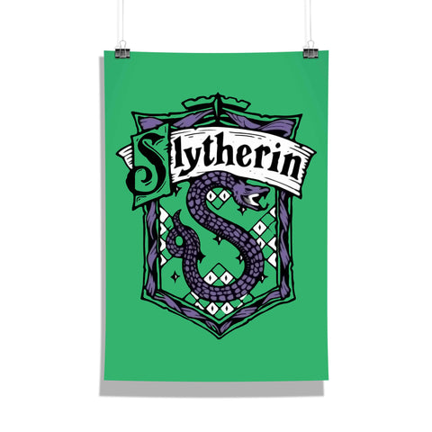 Harry Potter Poster Of Slytherin 12x18 Poster