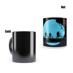 "Stranger Things -Full Moon""Morphing Magic Heat Sensitive Mugs "" Cool Coffee & Tea, Cup Drinkware Ceramic Mugs"
