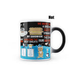 FRIENDS Quotes - Heat Sensitive Magic Mug