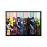Naruto Akatsuki All Members Poster