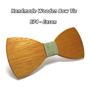 Classic Wooden Bowtie