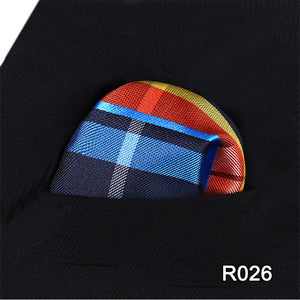 Satin Pocket Squares with Various Motives