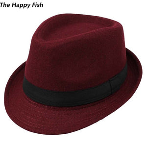 Wool Wide Brim Hat