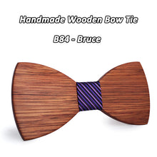 Simple yet Elegant Wooden Bowtie