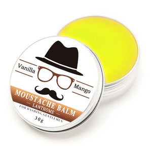 Natural Beard Balm for Beard Growth and Organic Moustache Wax for Beard Styling
