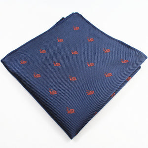 Animal and Christmas Print Pocket Squares