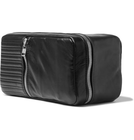 QUILTED LEATHER WASH BAG-Patricks_Hair_Care_Products