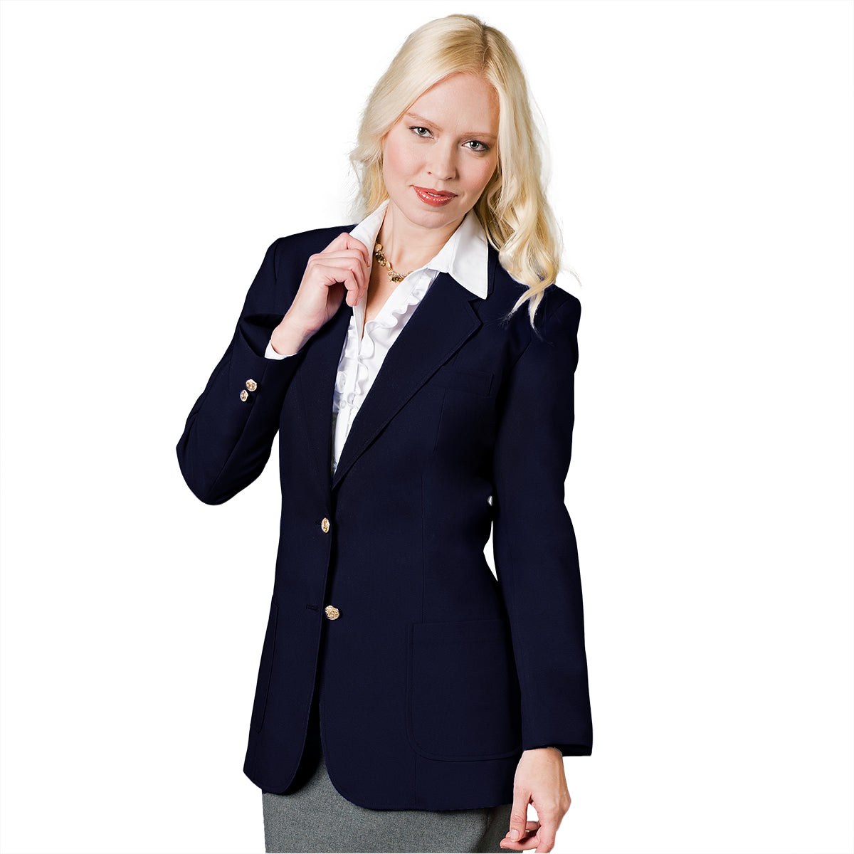Girls Dress Blazer For Official School Uniform Sizes 4-16