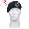 Inspection Ready Beret With USAF Flash - Midnight Navy Blue