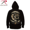 Black Ink U.S.M.C. Bulldog Hooded Pullover Sweatshirt
