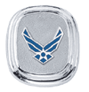 frankbeeinc - uniforms  uniforms online Air Force Classic Sterling Silver Tie Tac Sterling Silver - SchoolUniforms.com