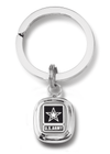 frankbeeinc - uniforms  uniforms online Army Sterling Silver Split Key Ring Sterling Silver - SchoolUniforms.com