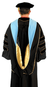 Graduation Gown - uniforms graduation uniforms online Doctor of Education Deluxe Regalia Package - SchoolUniforms.com
