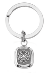 frankbeeinc - uniforms  uniforms online Fire Department Classic Sterling Key Ring Solid Sterling Silver - SchoolUniforms.com