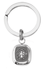 frankbeeinc - uniforms  uniforms online Fire Rescue Classic Sterling Key Ring Solid Sterling Silver - SchoolUniforms.com