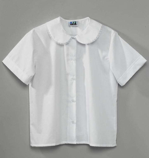 frankbeeinc - uniforms  uniforms online Girls School Uniform Blouses 6-Pack - SchoolUniforms.com