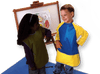 Schooluniforms.com - uniforms  uniforms online KinderSmock Long Sleeve Ages 3-6 - SchoolUniforms.com