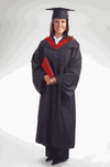Graduation Gown - uniforms graduation uniforms online Premium Bachelors Cap Gown and Tassel Package - SchoolUniforms.com