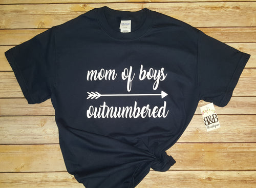 Mom of Boys Unisex TShirt