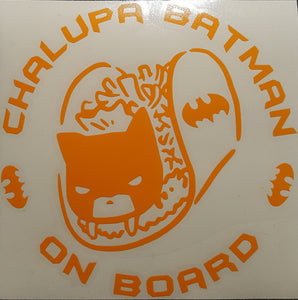 Chalupa Batman Car Decal