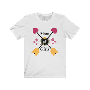 Mom Of Girls Unisex Jersey Short Sleeve Tee