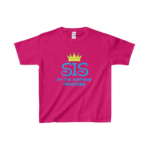 Sis Of The Birthday Princess Kids Shirt