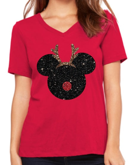 Mickey Reindeer Christmas Shirt