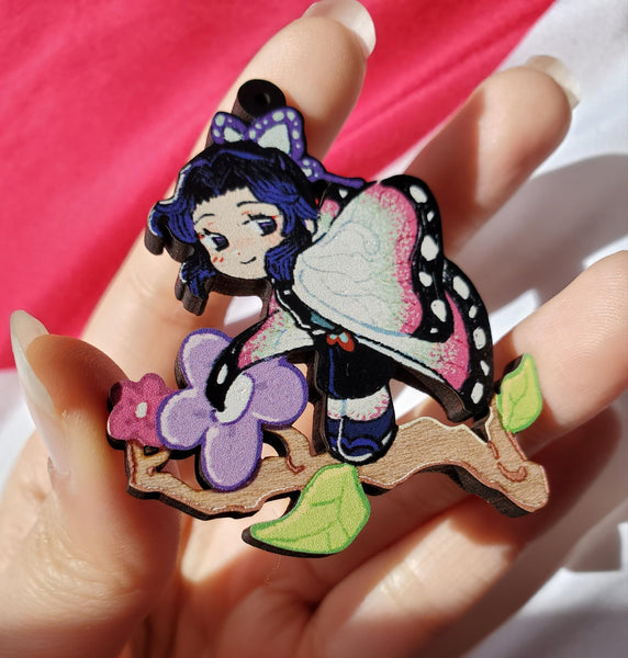 Kimetsu no Yaiba Wood Charms