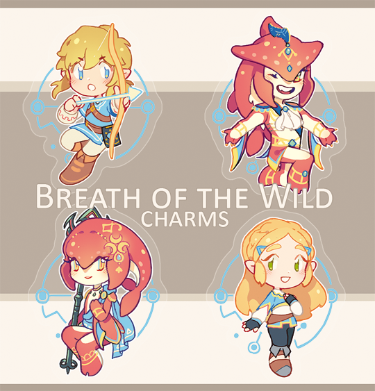 LOZ: Breath of the Wild Charms