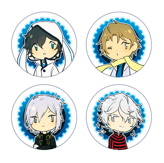 Devil Survivor 2 Button Set
