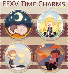 FFXV Time Charms