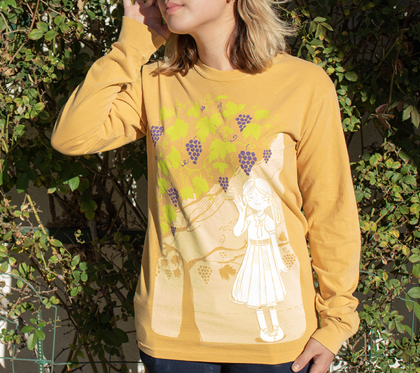 """Heard on the Grapevine,"" Long Sleeve Shirt"