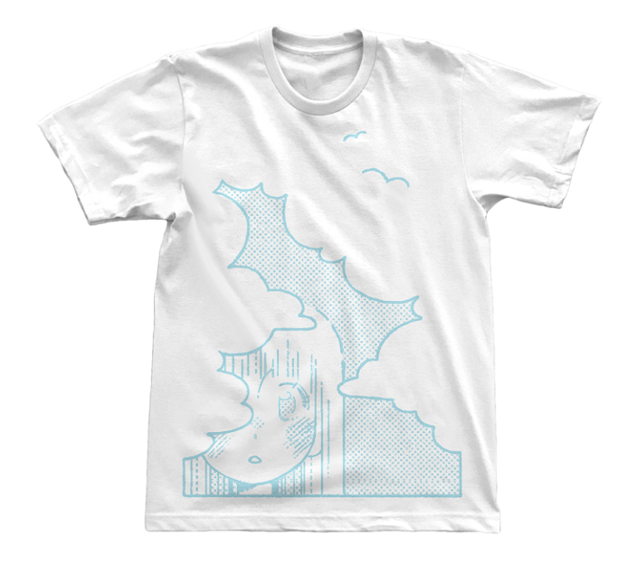 """Head In The Clouds,"" T-Shirt"