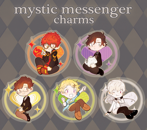 Mystic Messenger Charms