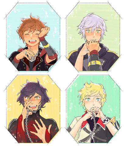 Kingdom Hearts Postcards (Set of 2)