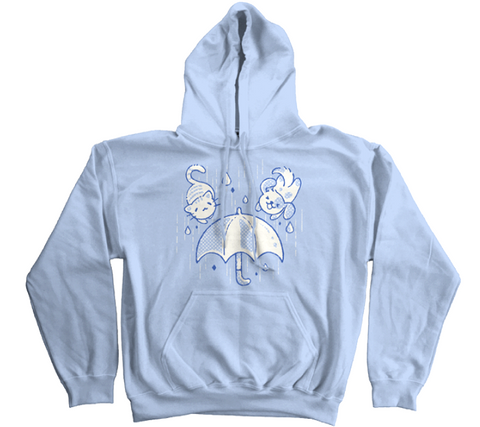 """Raining Cats and Dogs,"" Hoodie"