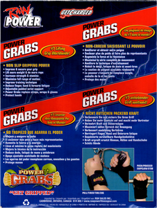 Power Grabs Cover (Back)