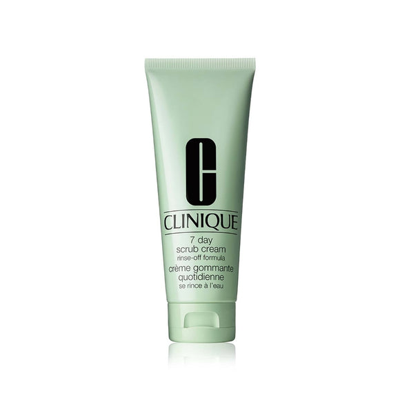 Clinique 7 day scrub rinse-off 100ml
