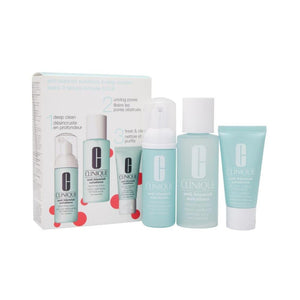 Clinique anti-blemish 3 step skin care