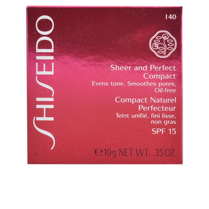 Shiseido sheer&perfect fdt compact i60