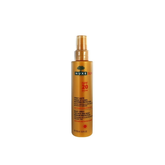 Nuxe sun lait spray spf20 150ml