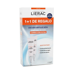 Lierac dioptifatigue duplo gel 15ml