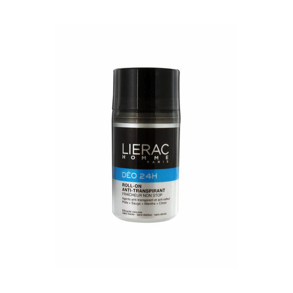 Lierac homme deo roll-on 24h 50ml