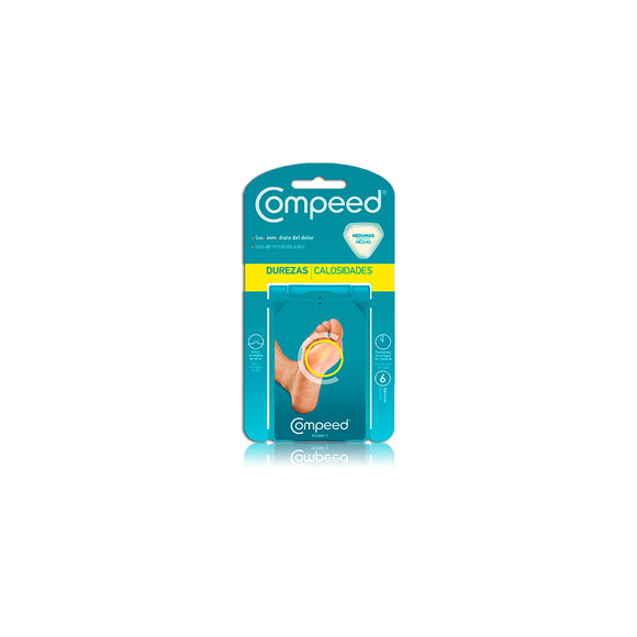 Compeed apositos durezas 6 udns